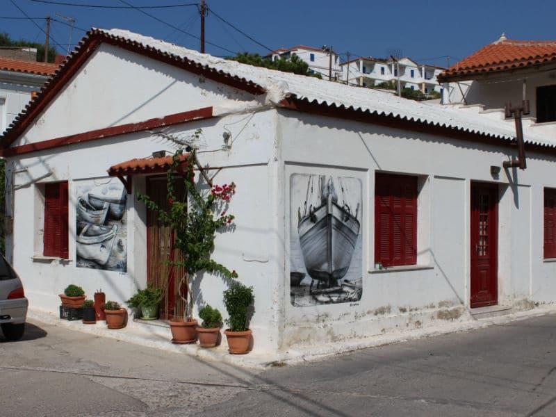 Πώς ένα χωριό στη Σάμο μετατράπηκε στο πρώτο ανοιχτό μουσείο της Ελλάδας (video)