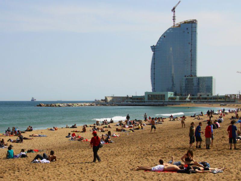 Παραλία Σαν Σεμπαστιάν Βαρκελώνη