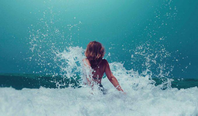 Μπάνιο στη θάλασσα