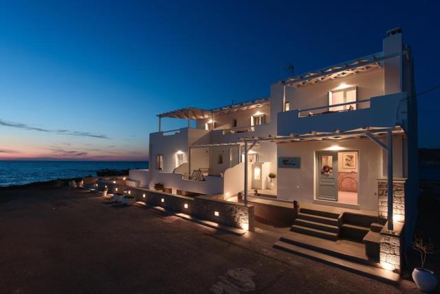 Tania Milos, ξενοδοχείο Μήλος - εξωτερική άποψη