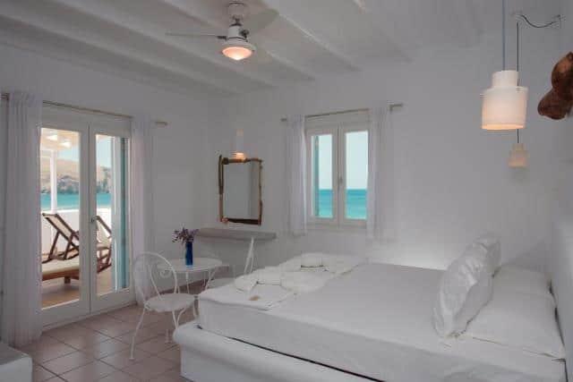 Tania Milos, ξενοδοχείο Μήλος - δωμάτιο με θέα
