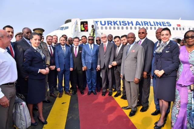 Turkish Airlines Pointe Noire