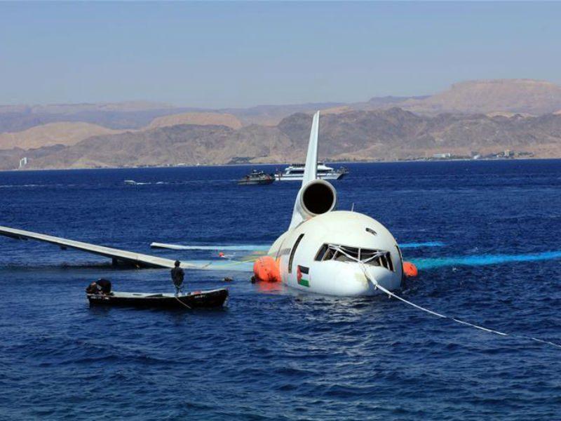Ιορδανία: Ακόμα ένα αεροσκάφος βυθίζεται για χάρη του τουρισμού