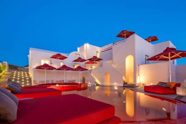 Art Hotel Santorini - Aqua Vista