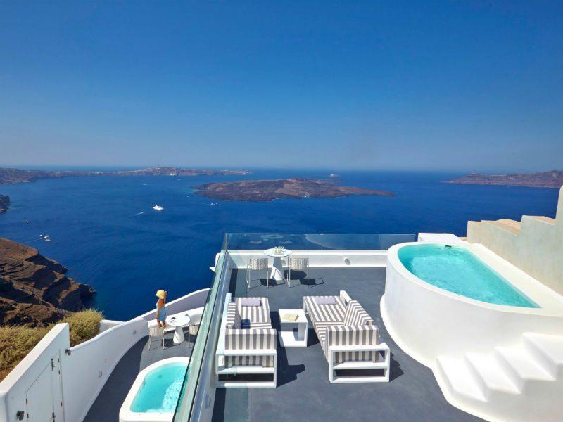 Dreams Luxury Suites Σαντορίνη - Aqua Vista