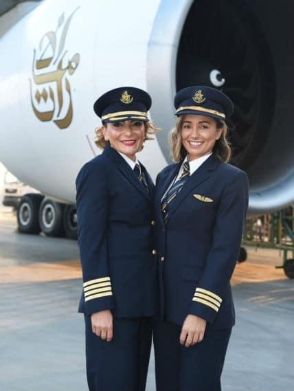 Emirates πιλότοι
