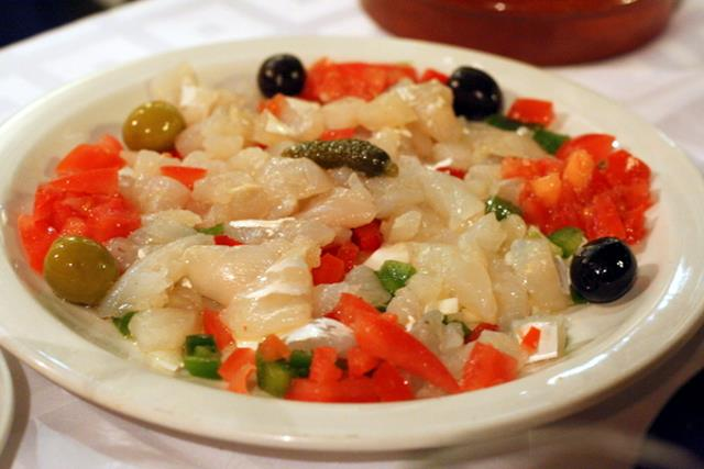 Esqueixada - φαγητό Βαρκελώνη