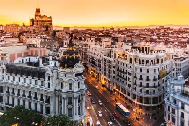 Gran Via, Μαδρίτη