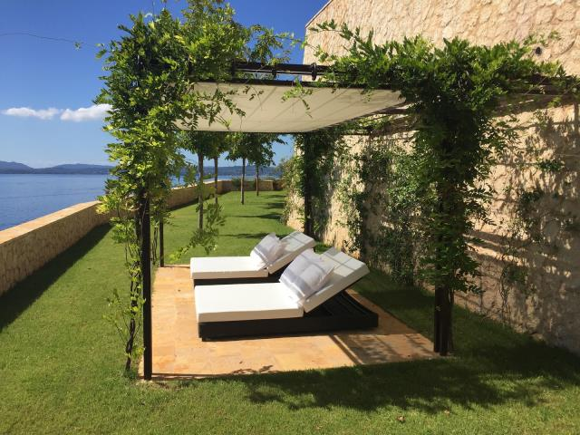 Grand Marine Corfu κήπος