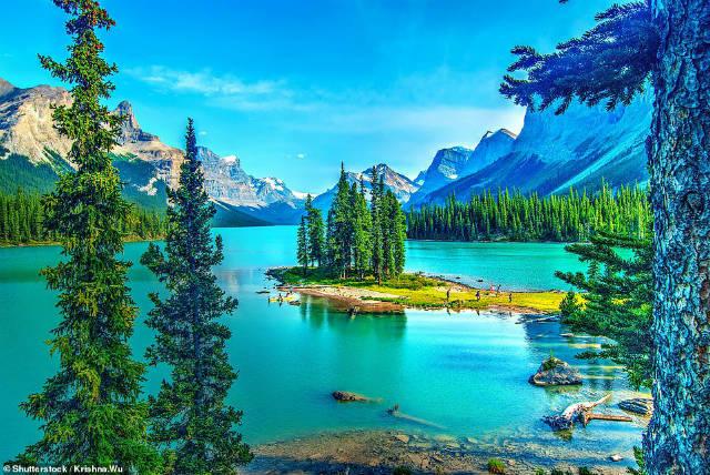 Λίμνη Maligne, Καναδάς