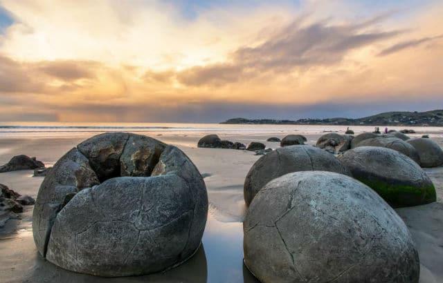 Βράχοι Moeraki, Νέα Ζηλανδία