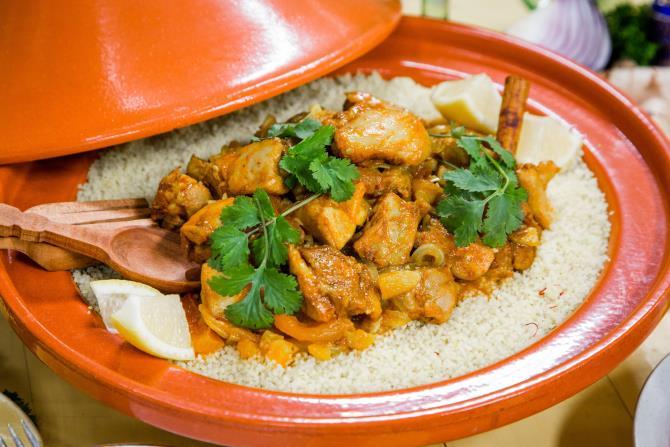 Ταζίν - Μαροκινό φαγητό