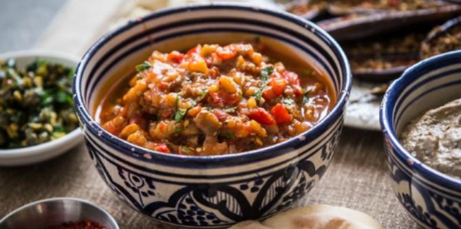 Ζααλούκ - Μαροκινό φαγητό