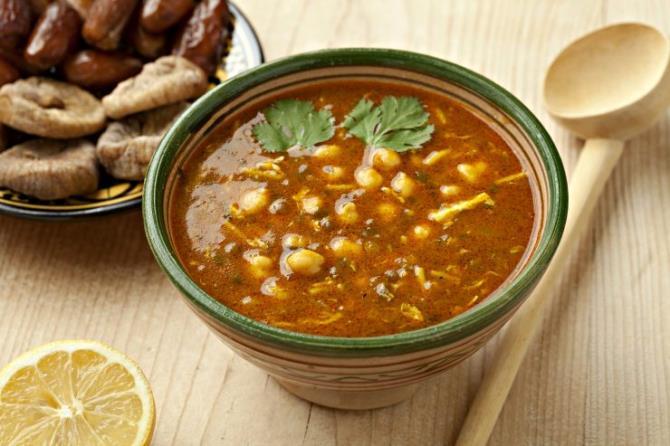 Χαρίρα - Μαροκινό φαγητό