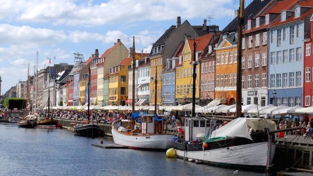 Nyhavn, Κοπεγχάγη, Δανία