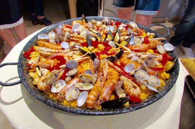 Παέγια - φαγητό Βαρκελώνη