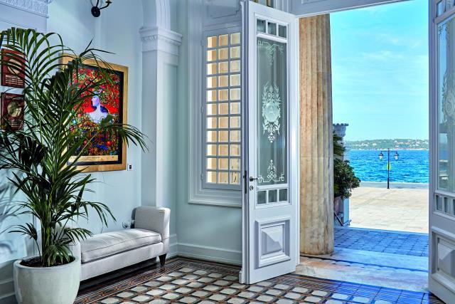 Poseidonion Grand Hotel είσοδος