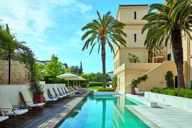 Poseidonion Grand Hotel πισίνα