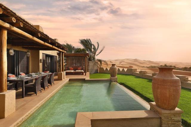 Qasr al Sarab Desert Resort, Άμπου Ντάμπι - θέα