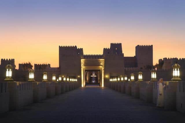 Qasr al Sarab Desert Resort, Άμπου Ντάμπι