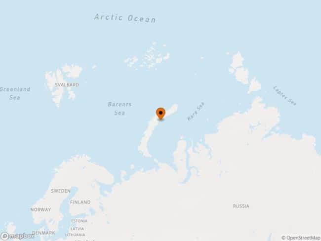 Νέα νησιά στη Ρωσία