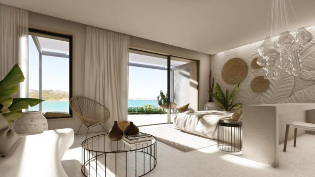 The Island Concept boutique hotel - σουίτα με θέα