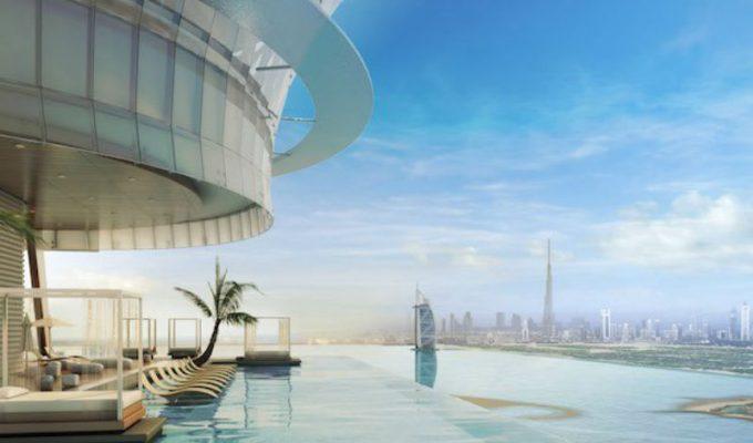 Ντουμπάι: Ανοίγει μια από τις ψηλότερες πισίνες infinity στον κόσμο!