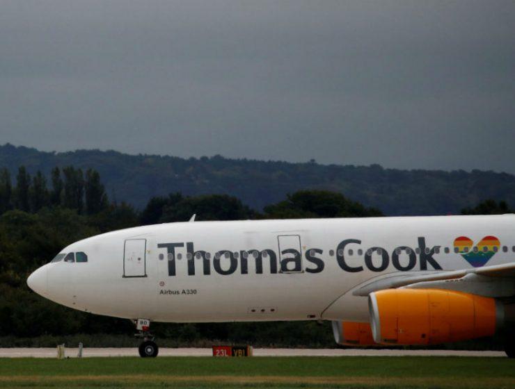 Thomas Cook τελευταία πτήση