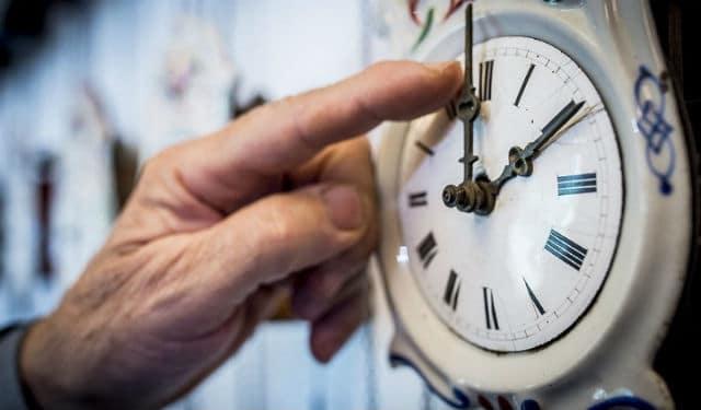 Αλλαγή ώρας - ρολόι