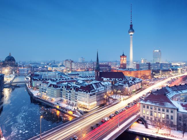 Βερολίνο το χειμώνα