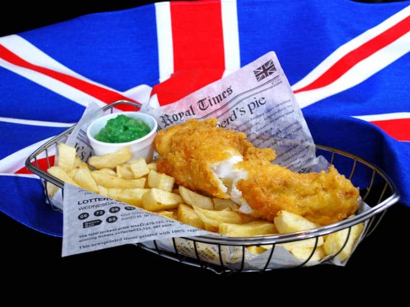 Βρετανικά φαγητά - Βρετανική κουζίνα