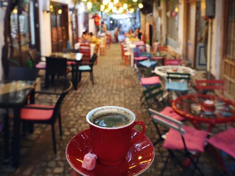 Κωνσταντινούπολη καφέ