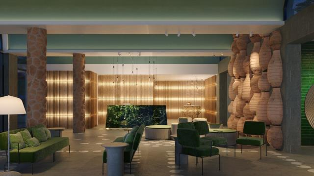 Cayo Exclusive Resort & Spa - lobby είσοδος