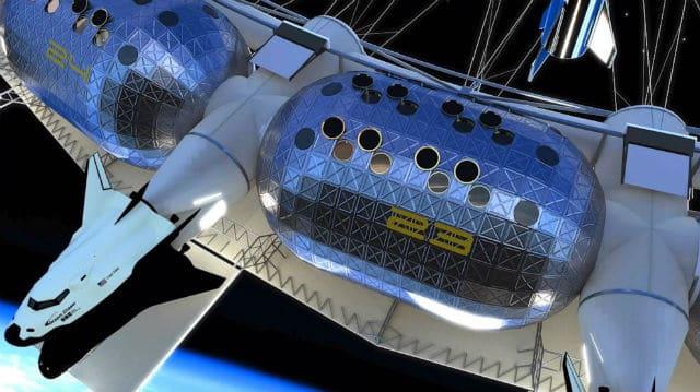Διαστημικός σταθμός Von Braun - ξενοδοχείο