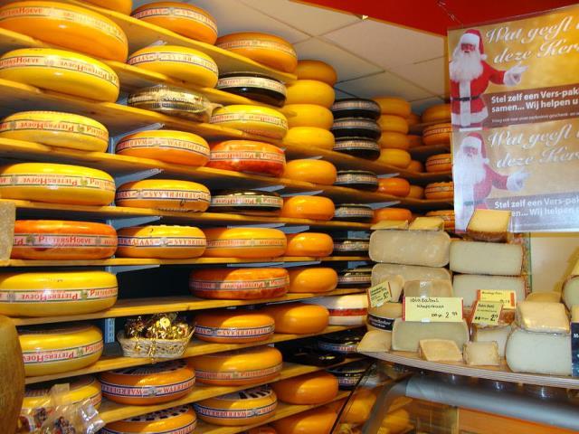 Ολλανδικό τυρί, Άμστερνταμ
