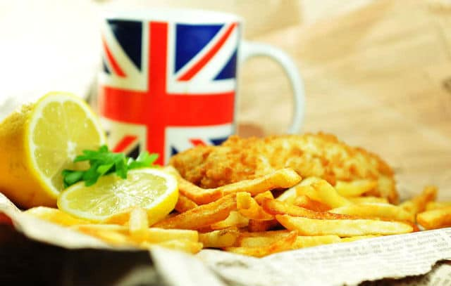 Fish and chips - βρετανικά φαγητά