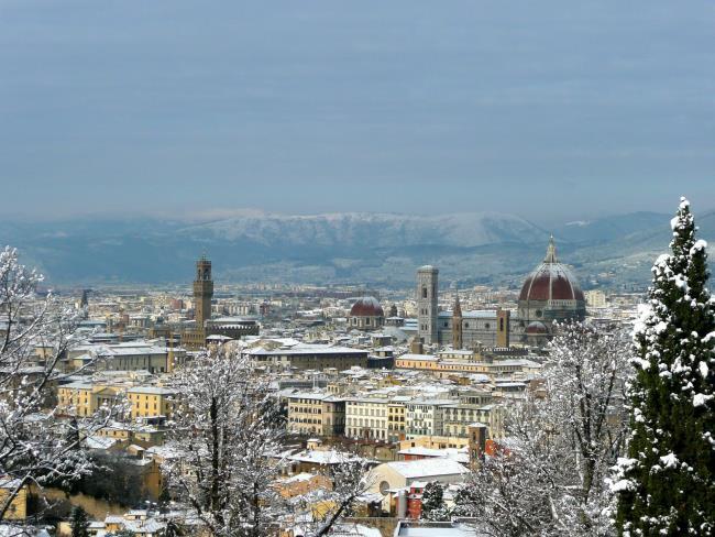 Φλωρεντία το χειμώνα