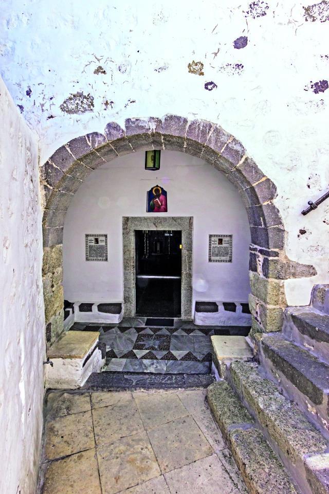Ιερό Σπήλαιο Αποκάλυψης, Πάτμος