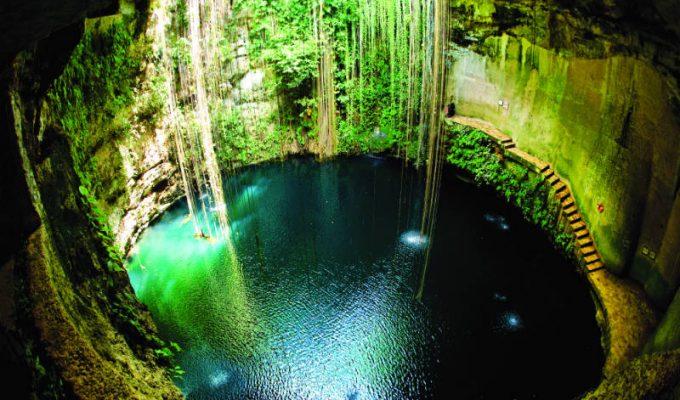 "ik kil - Αυτό είναι το ομορφότερο σπήλαιο του κόσμου μέσα στο οποίο ""κρύβεται'' μιας μαγικής ομορφιάς λίμνη!"