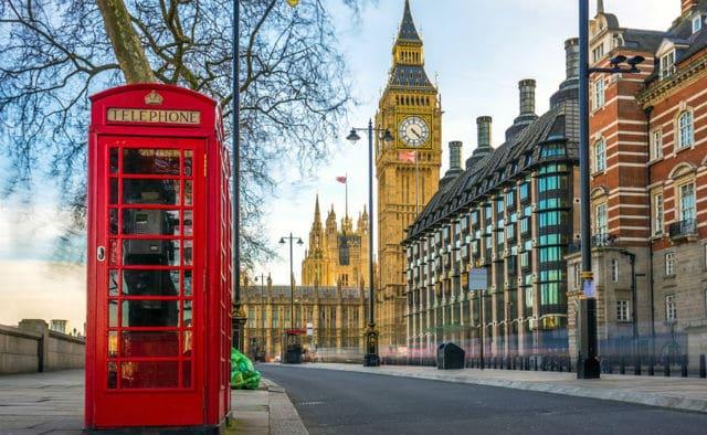 Λονδίνο - phone booth
