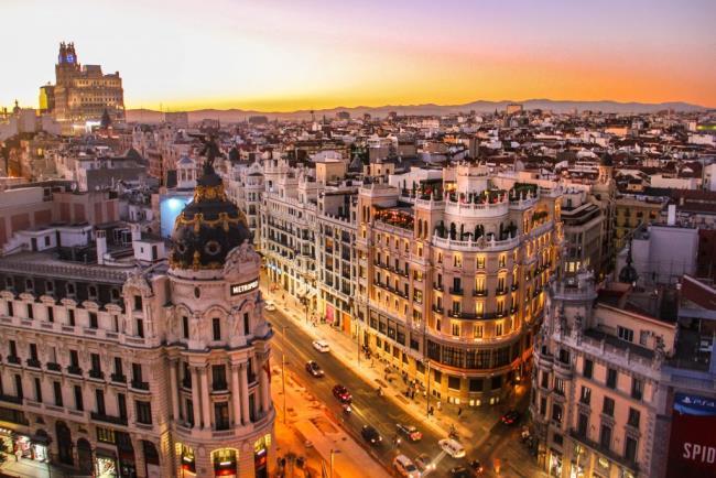 Μαδρίτη το χειμώνα