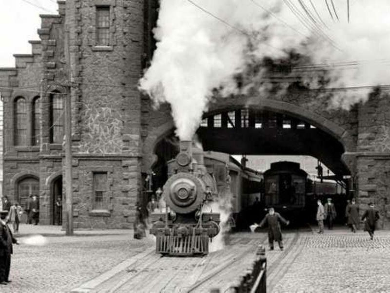 Μυστηριώδες τρένο