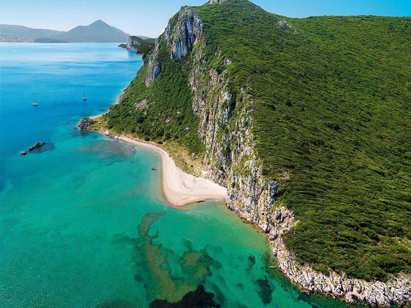 Νήσος Σφακτηρία, Μεσσηνία