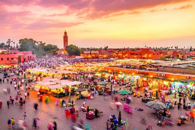 Μαρακές παλιά πόλη - αγορές