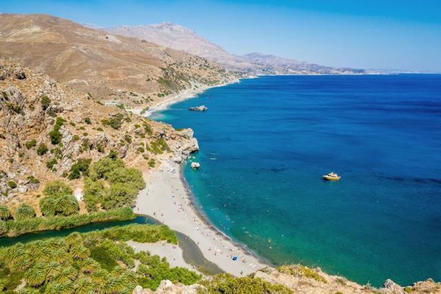 Πρέβελη - παραλία Κρήτη