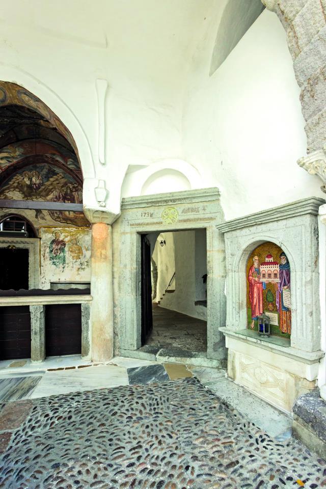 Σκευοφυλάκιο–µουσείο Μονής Ιωάννη του Θεολόγου, Πάτμος