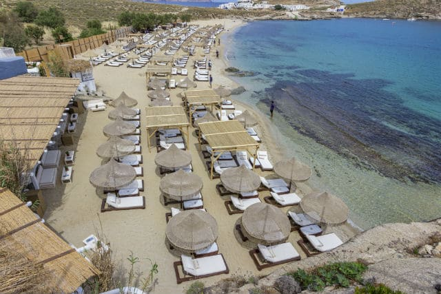 Spilia Mykonos παραλία