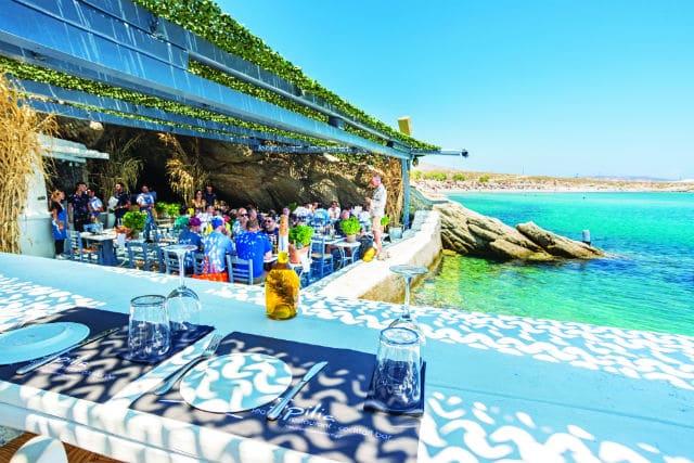 Spilia Mykonos εστιατόριο