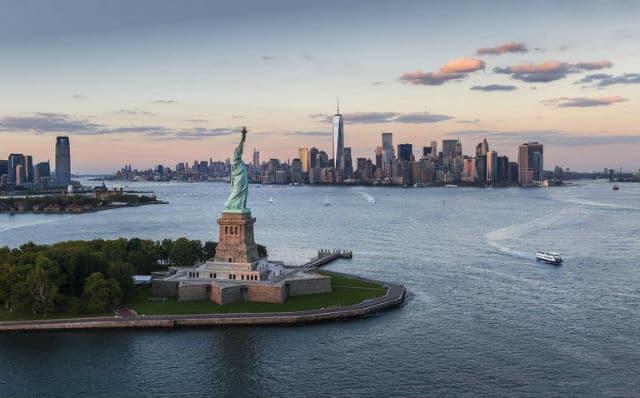Νησί της Ελευθερίας, Νέα Υόρκη