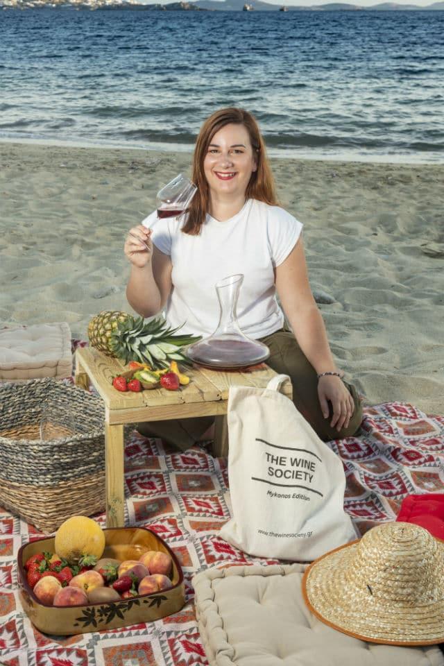 Γεωργία Λεσιώτη - The Wine Society
